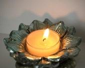 Floral Tealight Candle Holder