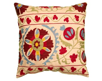 Cushion Cover - VINTAGE SUZANI DESIGN 14 - 45 x 45