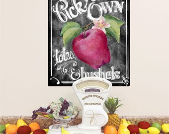 Pick Your Own Apples Wall Decal - #54453