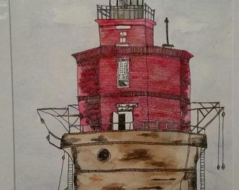 Chespeak Bay Lighthouse