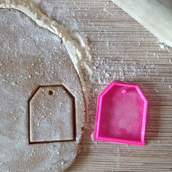 tea bag cookie cutter pla plastic by zayatzkaa on etsy