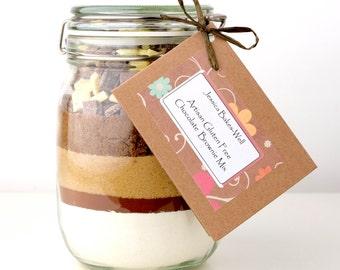 Brownie Mix - GLUTEN FREE Chocolate Brownie Mix - Great Taste Award Winner 2014
