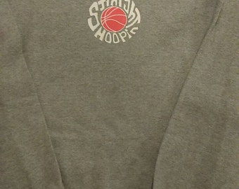 Straight Hoopin Baslketball Crewneck Sweatshirt Mens Womans