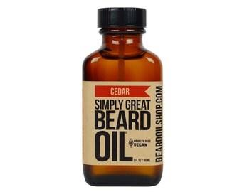 Beard Oil CEDAR by Simply Great