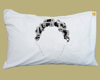 Curlers Pillowcase Funny Pillow Case Pillow Cover Pillow Slip