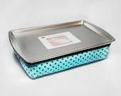 Kid's Lap Desk in Blue - Travel Lap Desk - Kid's Travel Tray - Kid's Lap Pillow - Lap Tray - Magnetic Lap Desk - Kid's Travel Toys