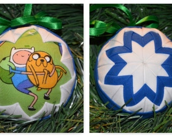 Adventure Time Christmas Ornament