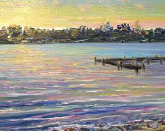 Sunset on Little Traverse Bay