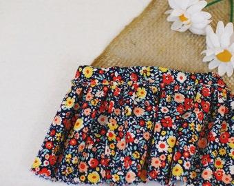 Ruffled Floral skirt for @pineyfleur