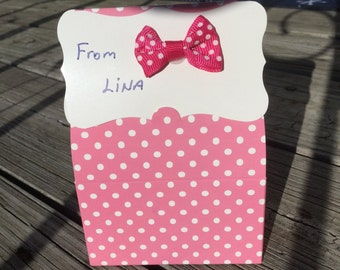 Baby shower favor box - baby gift box (15 boxes)