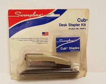 Free Shipping!! Swingline Cub Desk Stapler Kit NOS