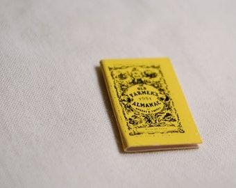 Miniature Farmer's Almanac
