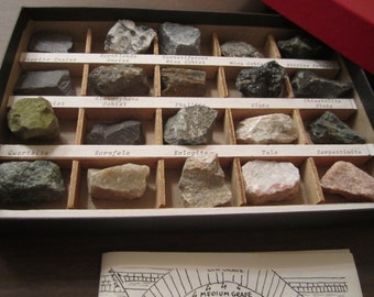 Burminco Rocks and Minerals Collection Metamorphic Rocks