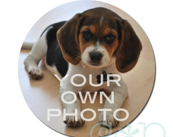 Your Own Photo: Personalized Retractable Badge Reel or Stethoscope ID Tag
