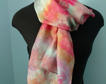 Shades of Pink & Coral Scarf