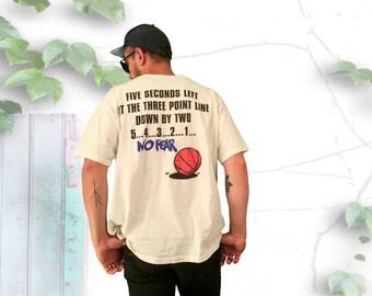No Fear Gear Basketball 90's Tee Shirt - FREE SHIPPING!!!