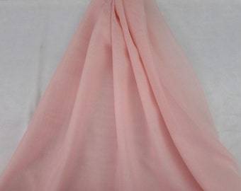 Poly Georgette Shear Light Pink Fabric From Springs Creative By the Yard