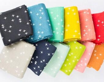 MOD BASICS3 WINK by Birch Fabrics - 12PCE Fat Quarter Bundle - Organic Cotton Fabric