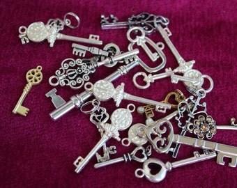 Lot of 20 Various Keys