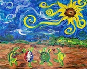 9/28 Wednesday Grateful Dead Paint N Sip and S'more Fest at The Top Notch Tavern 6-9 pm