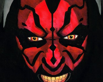 Star Wars Darth Maul Portrait