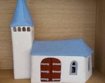 Felt Church - DIY pattern