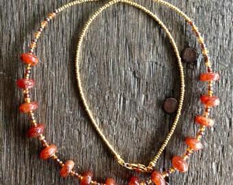 Golden Sunstone Necklace