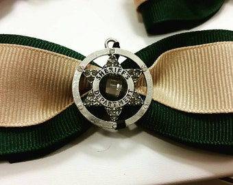 Sheriff's hair bow