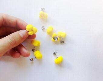 Wattle Stud Earrings