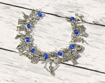 Once Upon A Time Inspired Ultimate Fan Charm Bracelet Remastered
