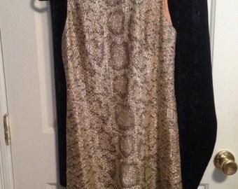 Vintage 1960's Leopard Print Dress