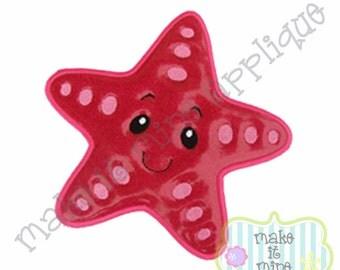 Applique Ocean Animal Starfish Machine Applique Design