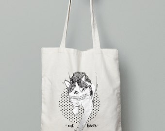Cat Lover Tote Bag (Limited Edition)