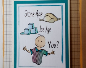 Funny Birthday Card for Him - Funny Husband Birthday Card - Funny Brother Old Age Birthday Card - Snarky Friend Card and Envelope Set