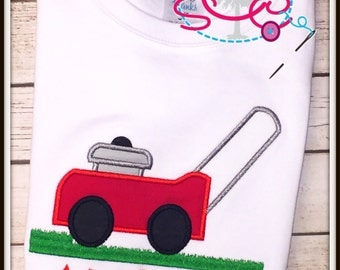 Personalized Lawn Mower Shirt/Bodysuit