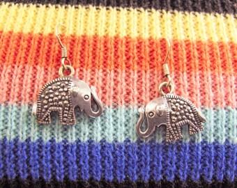 Sterling Elephant earrings