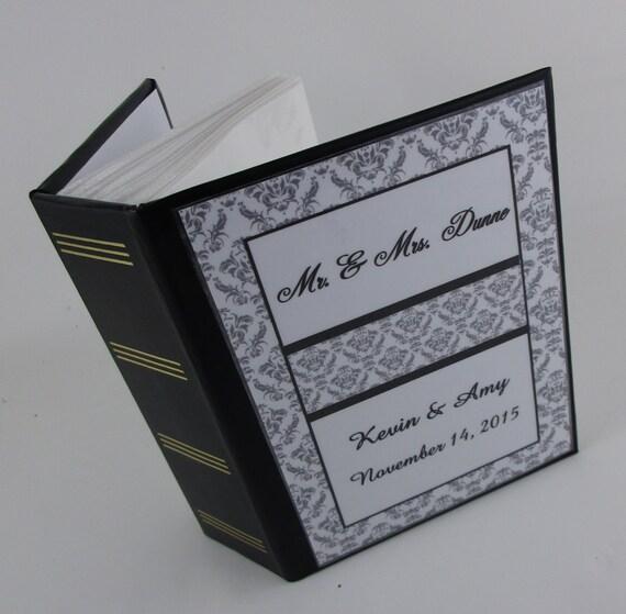 Personalised Wedding Photo Albums: Wedding Photo Album Personalized Photo Album Engagement Photo