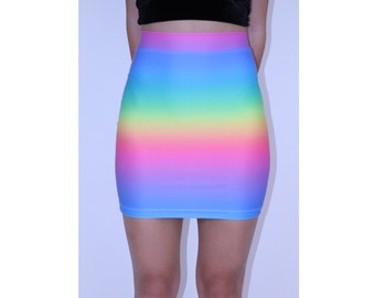 Rainbow Spectrum Skirt