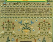SAMPLER & ANTIQUE NEEDLEWORK Quarterly Volume 24 - Counted Cross Stitch Chart Magazine