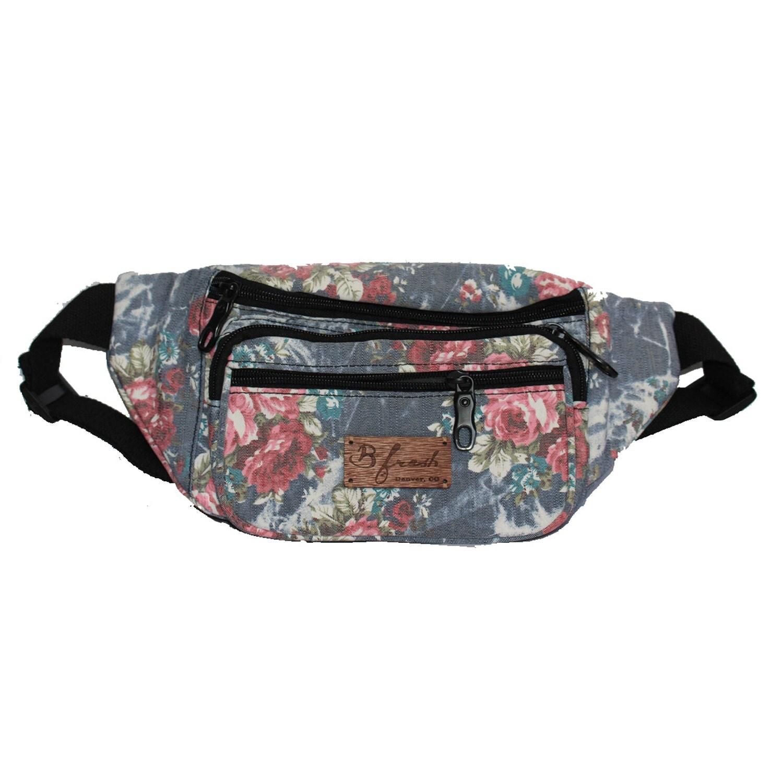 Grandma S Couch Denim Fanny Pack Bum Bag