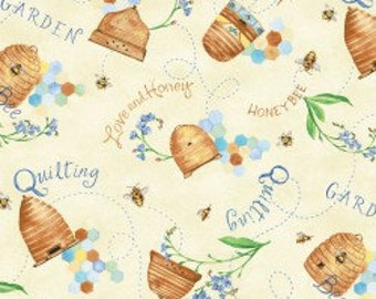 Quilting Bee- Multi, Fabric by the Yard