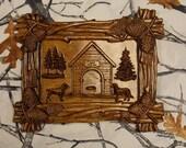 Wood Wall Art ~ Dog Groom...
