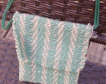 Woven pouch or coin purse.