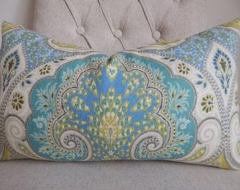 Kravet Latica designer fabric 14x20 pillow cover,throw pillow decorative pillow.accent pillow,lumbar pillow ,same fabric front and back.