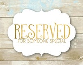 Reserved Listing for Mary