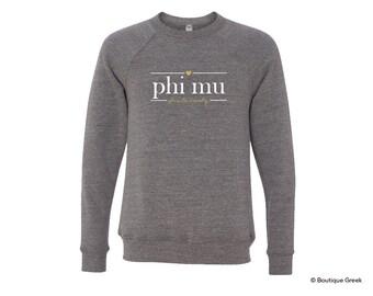 Phi Mu Sorority Sweatshirt