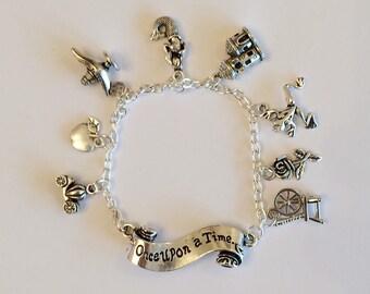 Fairytale Charm Bracelet, Once Upon a Time, Princess