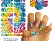 Custom Designed Jamberry Nail Art Studio Nail Wraps ~ , Misc Designs, Picnic, Tie-Dye, Tiffany & Co, Jamicure, Manicure, Pedicure