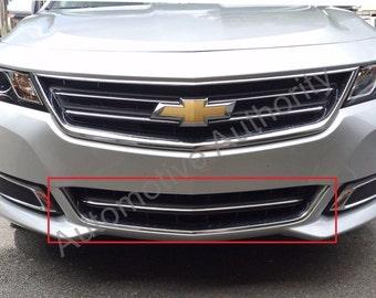 Chrome Front Bumper Trim Kit For 2014-2016 CHEVY IMPALA