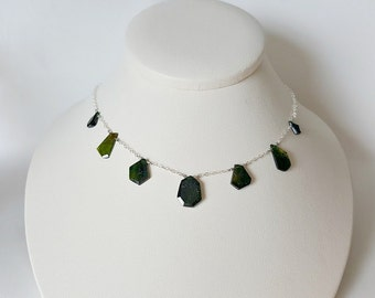 Chrome Tourmaline Necklace